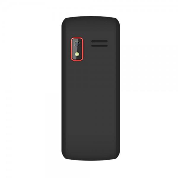 Vertex D516 Black-red, 2.4'' 240х320, up to 8GB flash, 0.3Mpix, 2 Sim, 2G, BT, Micro-USB, 1200mAh, 122.1х53х11,5 (D516 Black/Red)